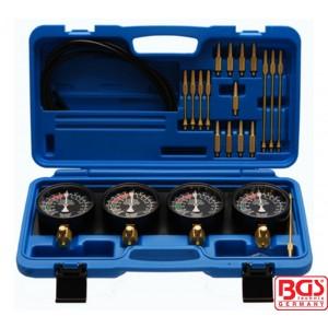 Merač pritiska karburatora, 0-14 PSI 25-delni