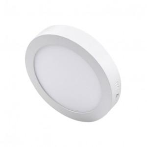 LED nadgradna panel lampa 12W toplo bela