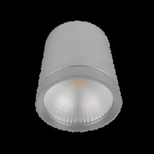 LED UGRADNA SVETILJKA RDLCOB 10W 230W 2700K 60° SREBRNA