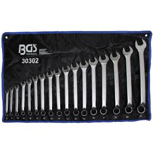 Set okasto-vilastih ključeva 8-27mm, zakrivljeni