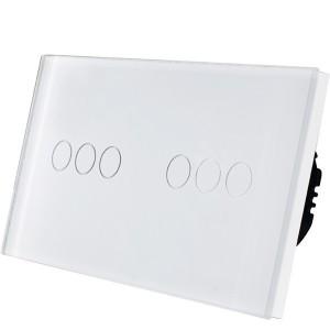 Wifi pametni prekidac 6 tastera – modularni sa 2 modula