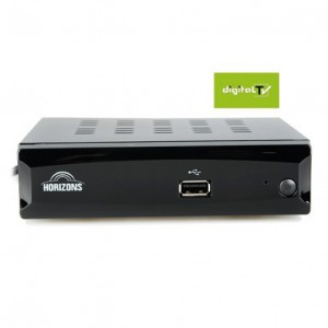 DVB-T2 DIGITALNI RISIVER SA RF MODULATOROM HORIZONS-S