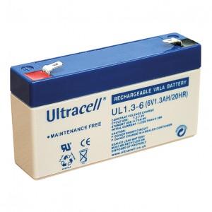 Žele akumulator Ultracell 1,3 Ah6V/1,3-Ultracell