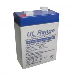 Žele akumulator Ultracell 2,8 Ah 6V/2,8Ah-Ultracell