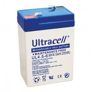 Žele akumulator Ultracell 4,5 Ah 6V/4,5-Ultracell