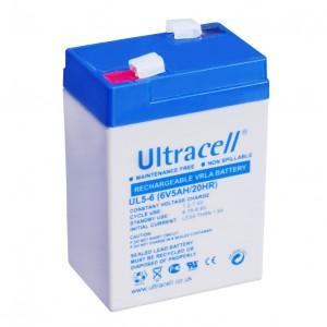 Žele akumulator Ultracell 5 Ah 6V/5-Ultracell