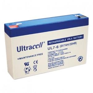 Žele akumulator Ultracell 7 Ah 6V/7-Ultracell