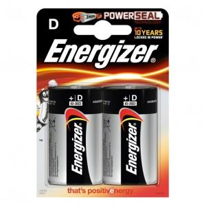 Energizer alkalne baterije D ENR-LR20/2BL