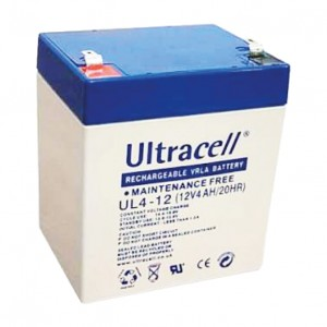 Žele akumulator Ultracell 4 Ah 12V/4,0-Ultracell