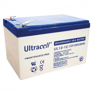 Žele akumulator Ultracell 12 Ah 12V/12-UC-Ultracell