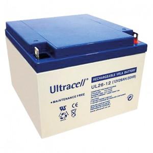 Žele akumulator Ultracell 26 Ah 12V/26-Ultracell