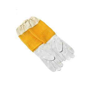 Kožne pčelarske rukavice sa ventilacijom
