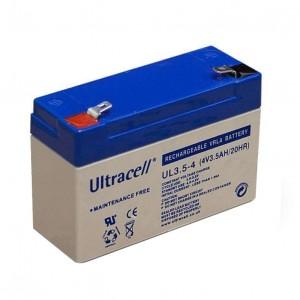 Žele akumulator Ultracell 3,5 Ah 4V/3,5-Ultracell
