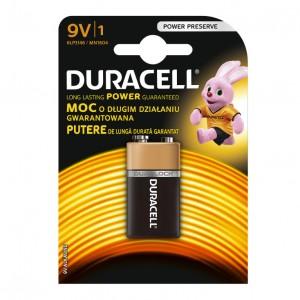 Duracell alkalna baterija 9V DUR-6LF22/BP1