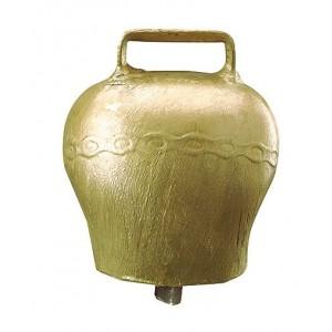 Čelično zvono, oblo, boja bronze, visina 60 mm