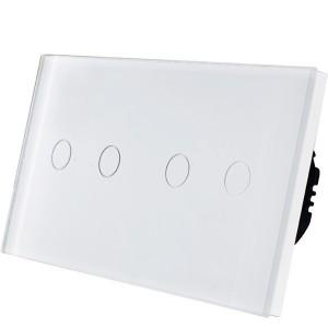 Wifi pametni prekidac 4 tastera – modularni sa 2 modula