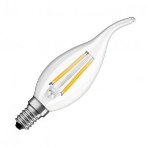 LED FILAMENT SIJALICA SVEĆA TOPLO BELA 3.9W LS-C35FL-WW-E14/4