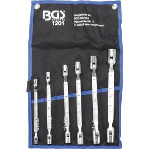 Set lulastih ključeva sa zglobnom glavom 8-19mm