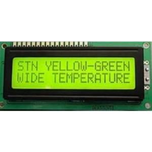 LCD displej 1x16 DEM16102SYH-PY
