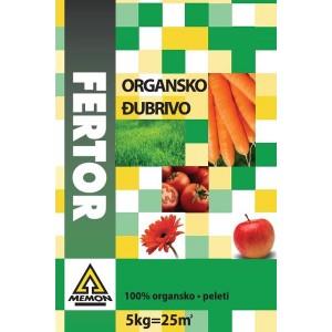 FERTOR 25kg ORGANSKO ĐUBRIVO