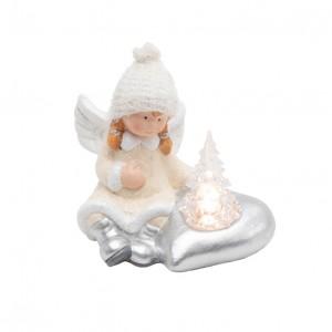 "Keramička LED stona dekoracija ""anđeo"""