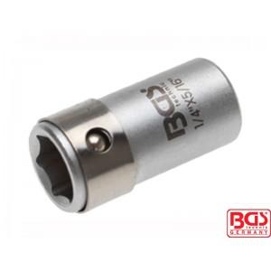 Bit adapter sa kuglom za nasadni ključ 6,3 (1/4), za 8 mm bitove