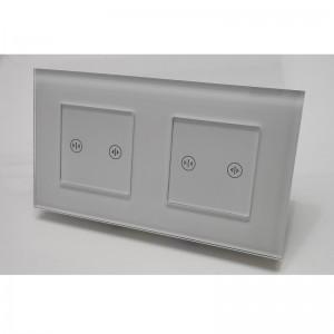 Wifi pametni prekidac za roletne, zavese – modularni dupli, 2 modula