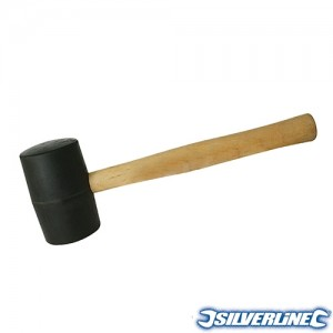 Čekic gumeni, crni